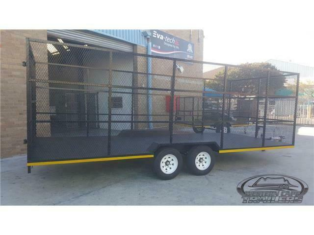 2700kg Recycling Trailer