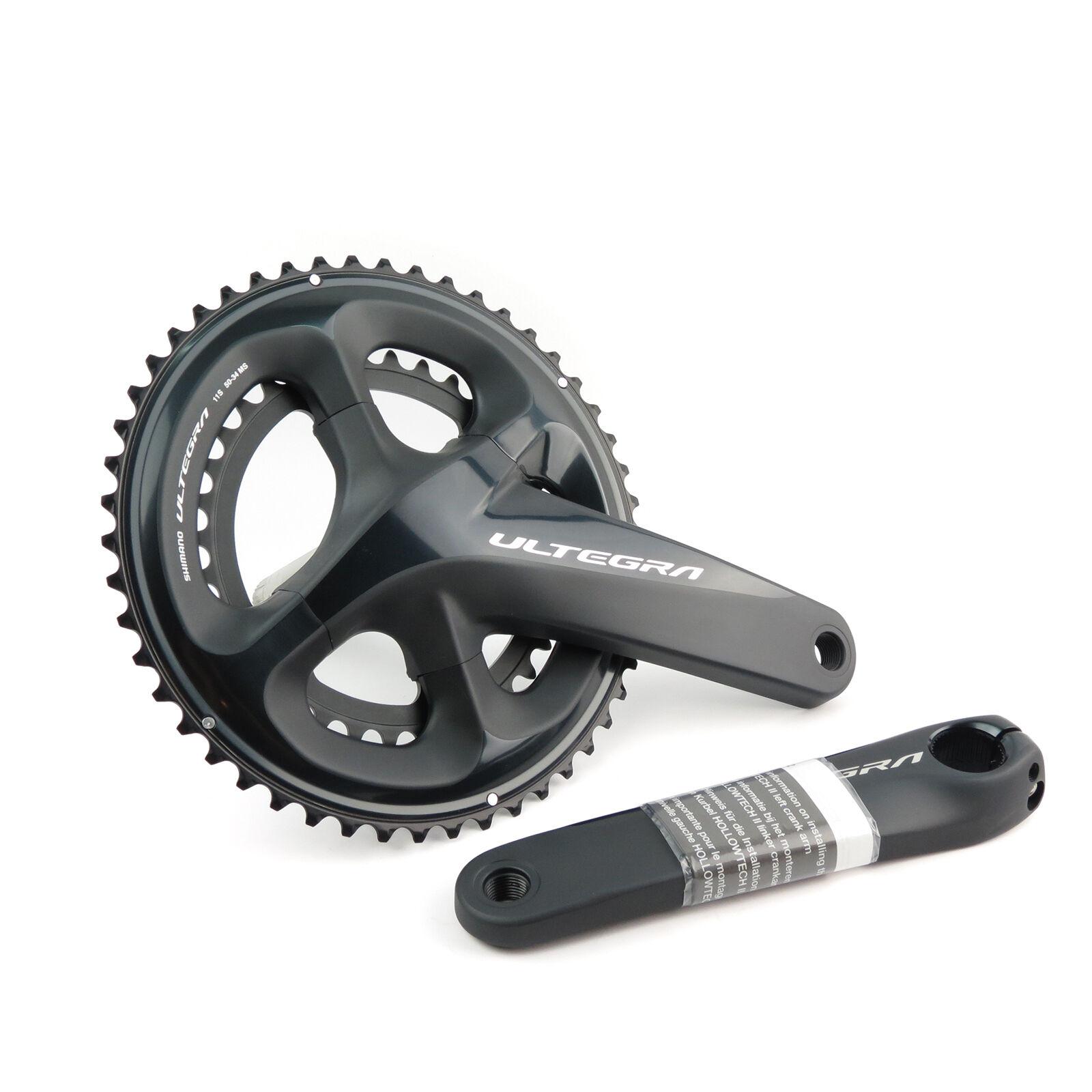 Shiuomoo Ultegra FCR8000 2 x 11 speed 5236T 172.5mm strada TT Bike Crankset OE