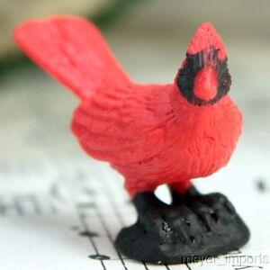 Cardinal Birds - Set of 4