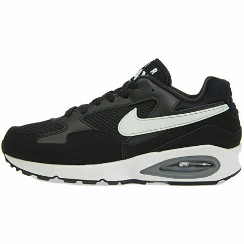 NEW NIKE AIR MAX ST TRAINERS BLACK SNEAKERS SIZE 9UK