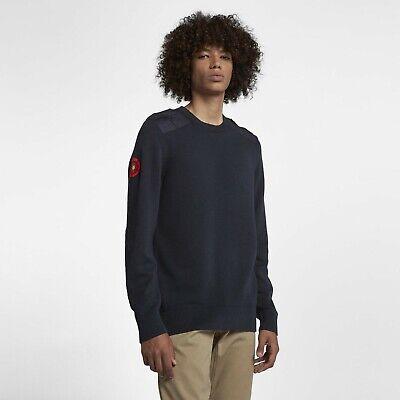 Nike SB X Lance Mountain English Rose Knit Crew Long Sleeve Blue AJ1222 XL   eBay