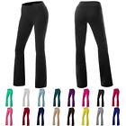 YOGA Pants Basic Long Fitness Foldover Women Zenana Cotton Spandex Workout Vogue