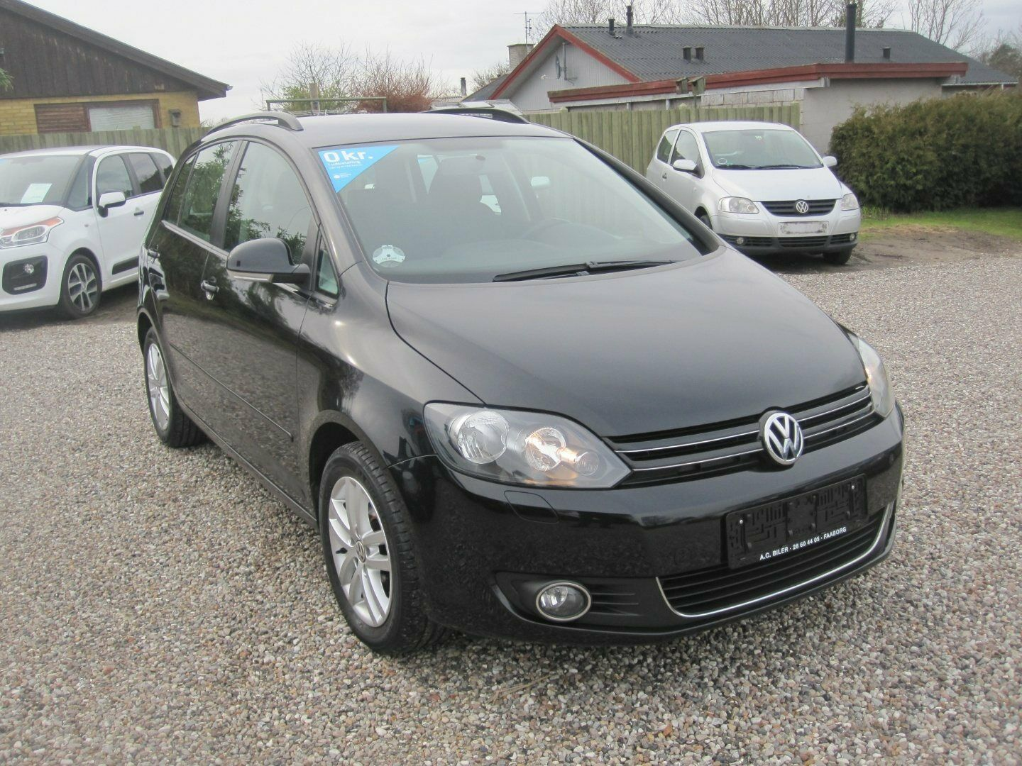 VW Golf Plus 1,6 TDi 105 Highline DSG BMT 5d - 142.800 kr.