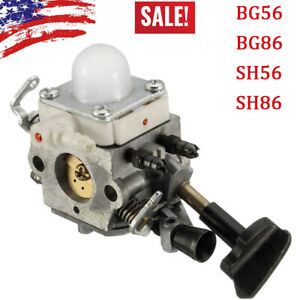 For-STIHL-BLOWER-BG56-BG86-SH56-SH86-CARBURETOR-NEW-4241-120-0607-UP440