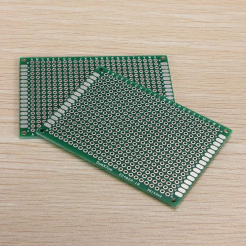 5Pcs Double Side Prototype PCB Tinned Breadboard 50mm x70mm 5x7cm US