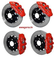 Wilwood Disc Brake Kit,05-13 Dodge Charger,300,300c,14.25 Rotors,red Calipers