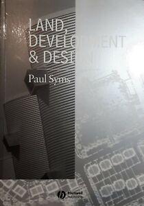 LAND DEVELOPMENT AND DESIGN, Paul Syms * survey town plan develop appraise tax
