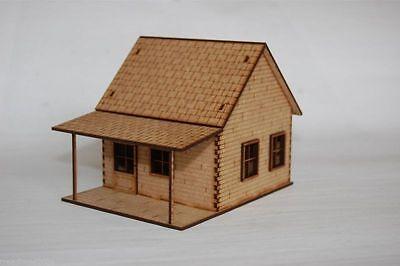 Old West Cowboy Building SHACK  25mm, 28mm Terrain, D023