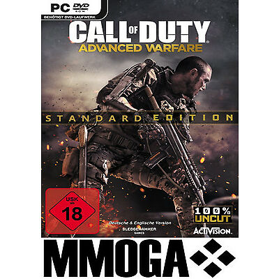 Call of Duty Advanced Warfare Key CoD 11 AW STEAM Download Code [DE][PC] UNCUT