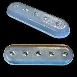 10 k azul, gorila LED, luz de marco submarino.