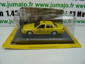 TX5F-Voiture-1-43-LEO-model-TAXIS-DU-MONDE-FORD-CROWN-VICTORIA-New-York-1992