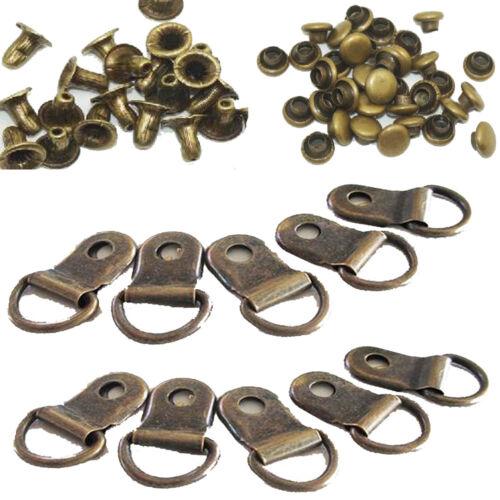 30x Boot lace rings camp repair speed swivel rivet shoe cord eyelet set