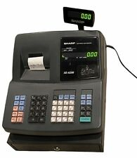 Sharp Xe A206 Electronic Cash Register Withcash Drawer Amp Op Key Tested No Box