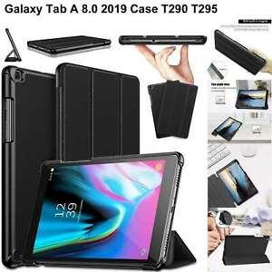 Custodia-Per-Galaxy-Tab-A-8-0-T290-T295-2019-pelle-Magnetica-Stand-Sottile-Smart
