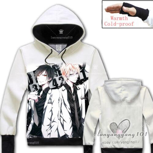 DuRaRaRa! Anime Orihara Izaya/&Heiwajima Shizuo Hooded Sweatshirts Coat #Ae32