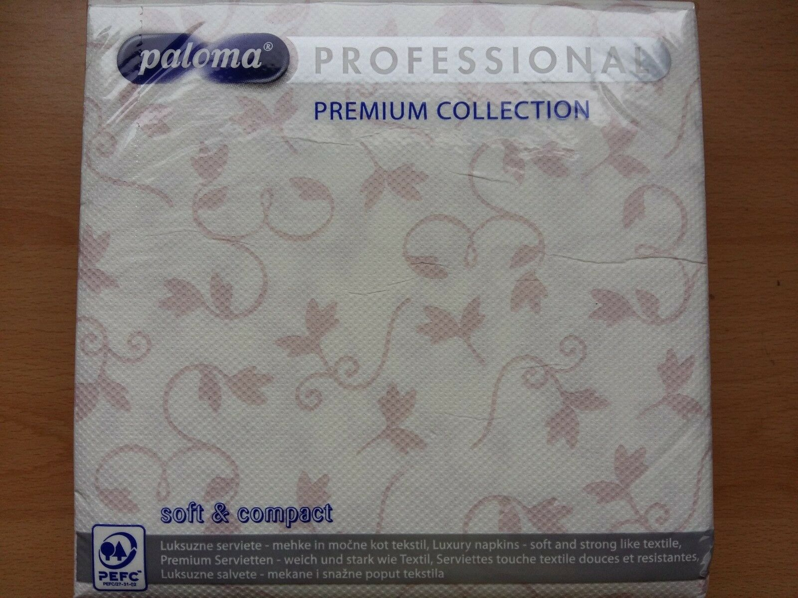 3ply Professional Napkins 40x40 Pink Floral Serviette Party Wedding Aniversary
