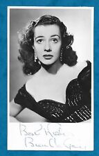 C1950'S SIGNED RP PC BRENDA GAY, FILM ACTRESS