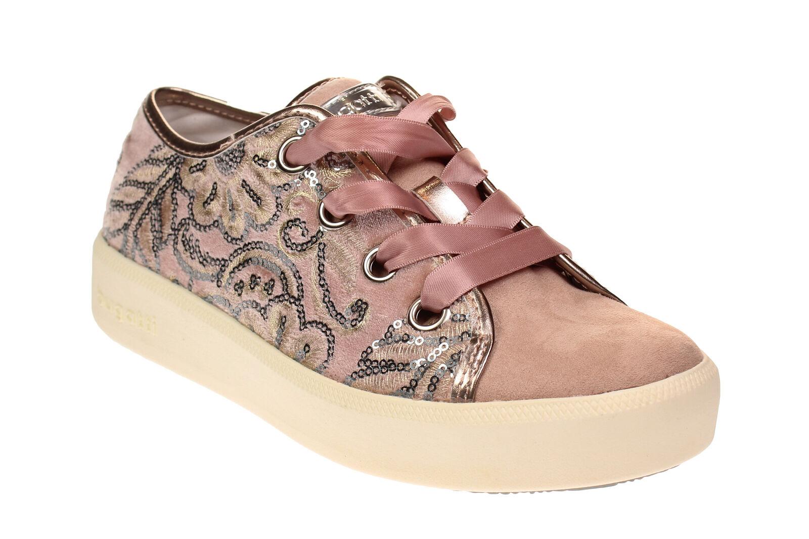 Bugatti kelli-señora zapatos zapatillas - 422 422 - 40706 6469 - 3490-Rose-Metallics d04aaf