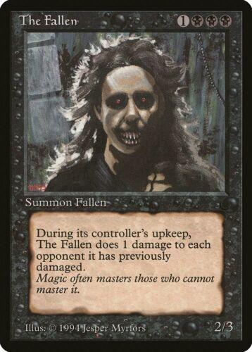 The Fallen The Dark NM Black Uncommon MAGIC THE GATHERING MTG CARD ABUGames