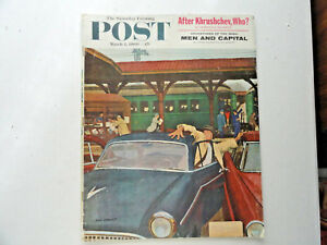 Saturday-Evening-Post-Magazine-Back-Issue-March-5-1960-Complete