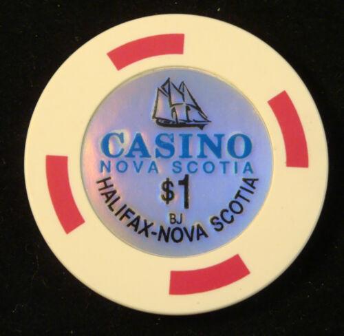 Halifax Nova Scotia $1 Casino Chip Blackjack Poker