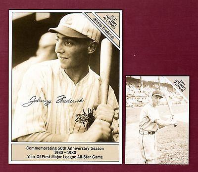 "Marketcom Conlon: JOHNNY FREDERICK Dodgers 1933-1983 GIANTsize 4.5/""x 6/'"