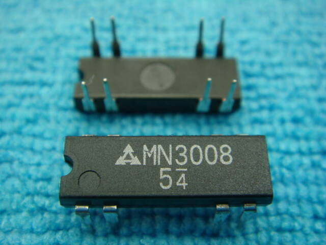 MN3207  Long Delay Low Noise BBD For Effect of Echo IC PANASONIC