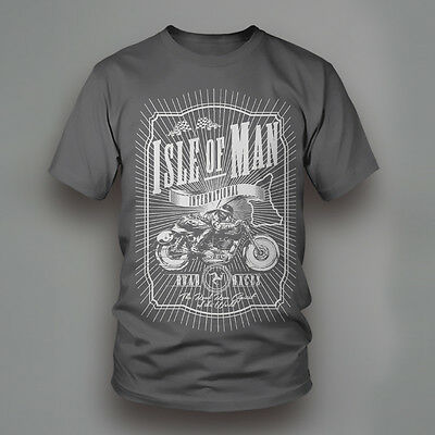 Isle of Man TT International Road Races Motorcycle T-Shirt