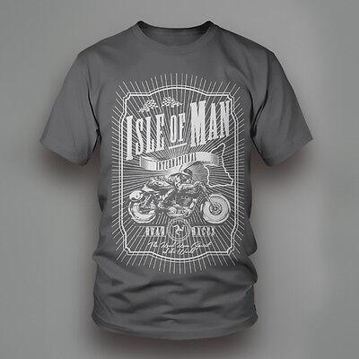 Isle of Man TT International Road Races Motorcycle T-Shirt