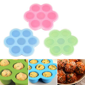 Am-JU-7-Slot-Silicone-Reusable-Ice-Cube-Mold-Storage-Box-Container-Freezer-Tra