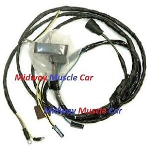 72 oldsmobile cutlass hurst olds 4 4 2 350 455 v8 engine wiring rh ebay com