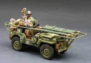 KING-amp-COUNTRY-D-DAY-DD068-U-S-AMBULANCE-JEEP-SET-MIB