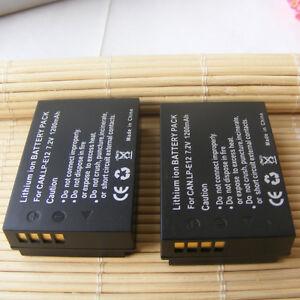 2-Pack-Batterie-Pour-Canon-Powershot-SX70-HS-compacts-Camera-Numerique-1200-mAh