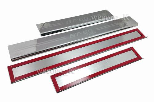 DOOR SILL STAINLESS STEEL SCUFF PLATE FOR MAZDA BT50,BT-50,BT 50 PRO 2012-2015