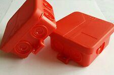 SD 7 mit 7 Einführungen Spelsberg Rot Verbindungsdose Verteilerdose