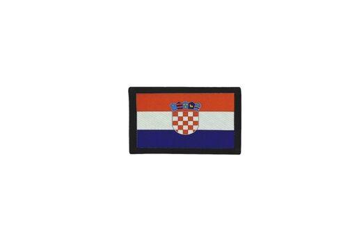 Patch ecusson brode imprime voyage souvenir backpack drapeau croatie croate