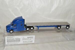 HO Trucks n/' Stuff Kenworth T680 tractor CENTRAL OREGON 48/' flatbed trailer
