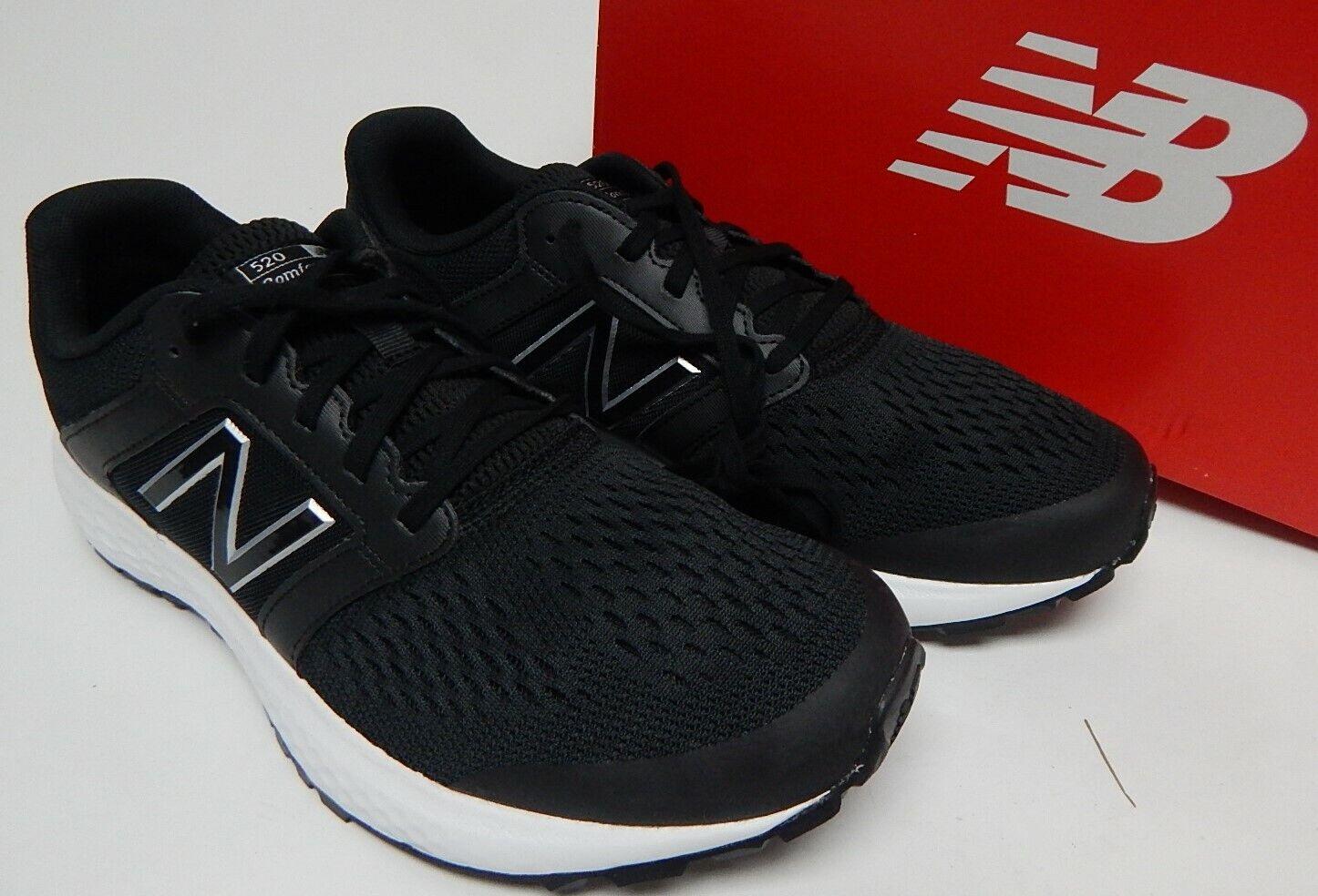 New Balance 520 V5 ComfortRide Size 10 M (D) EU 44 Men's Mesh Running Shoe Black