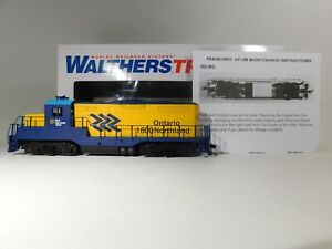 Brand-New-Walthers-HO-Scale-Ontario-Northland-GP9M-Locomotive-931-456-TOTES1