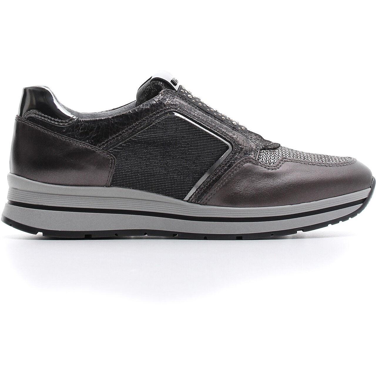 shoes SPORTIVE SNEAKERS AUTUNNO-INVERNO blackGIARDINI NUOVA COLLEZIONE A806413D