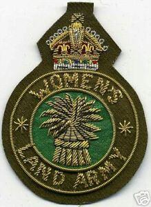 Sammeln & Seltenes KüHn Women's Land Army Badge/ Aufnäher Im Angesagten Military Look