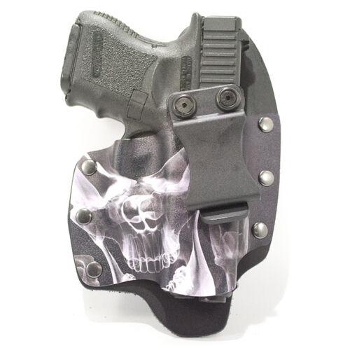 IWB Hybrid Kydex Holster Smoke Skull Taurus