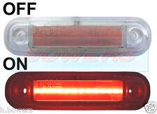 12V/24V SURFACE/BAR MOUNT RED REAR LED MARKER LAMP / LIGHT TRUCK VAN KELSA BAR