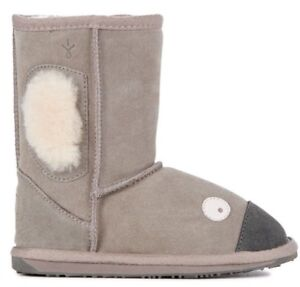 e3c1f5c9172 Details about Brand New EMU Little Creatures Koala Merino Sheepskin Ugg  Boots Kids US 11 10256