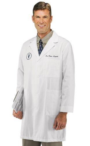 Mens Lab Coat Doctor/'s Jacket White