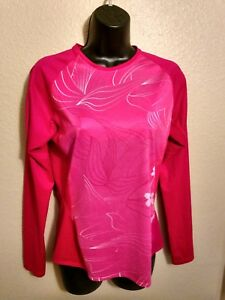 Sugoi-Woman-039-s-Long-Sleeve-Pink-Athletic-Top-M