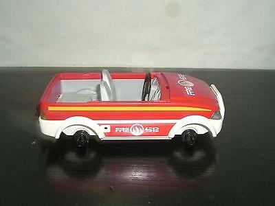Playmobil Fire Chief Chief Fireman Chef feuerwehr