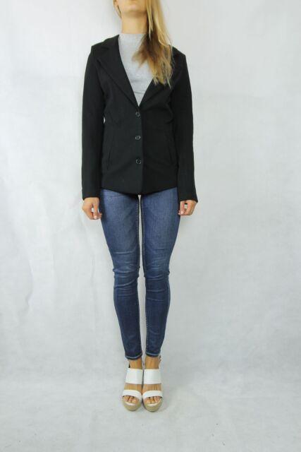 WISH Black Jersey Search Jacket Size 10 S