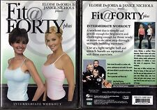 Fit @ Forty Plus - Intermediate: Advanced Pilates Workout (DVD, 2006)
