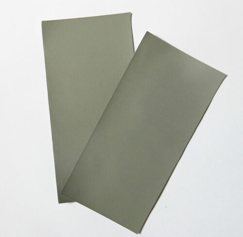 "Micro-Mesh  Finishing Sheet  2 sheets 4/'/' x 6/"" 12000 grit Extra Fine SANDPAPER"
